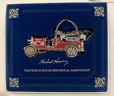 £14.49 • Buy The White House Historical Association Christmas Ornament 2016 Hoover Fire Truck