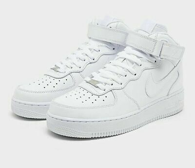 AU148.36 • Buy 🔥 Nike Men's Air Force 1 Mid '07 Triple White Casual Shoes CW2289-111 Size 10.5
