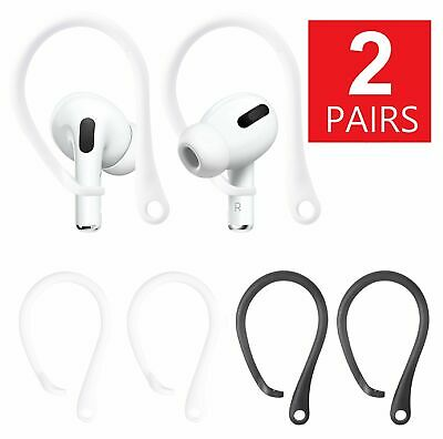 $ CDN6.23 • Buy 2-Pairs Silicone Sports Anti-lost Ear Hook For AirPods Strap Earhook Holder