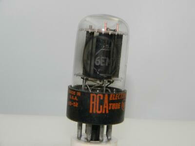 AU12.65 • Buy Strong RCA 6EM7 Black Plates Copper Post Grid Side  O  Getter Serious Tubes N743