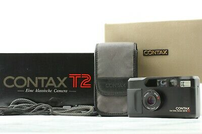 $ CDN2765.97 • Buy [Mint In Box] Contax T2 Limited Black 35mm Point & Shoot Film Camera From Japan