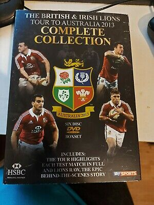 £3.99 • Buy British And Irish Lions Dvd 2013 Sealed Complete Collection