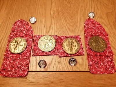 £25 • Buy WORLD CUP FINALS 1966 Global Medal Medallion With Case And Badge