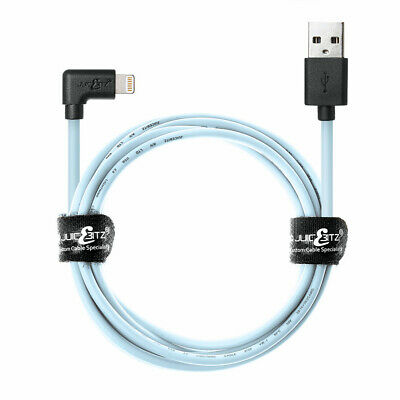 £8.95 • Buy JuicEBitz® MFi-Certified Lightning Cable Angled USB Charger For Apple IPhone