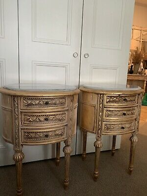 AU750 • Buy Pair Of Antique French Bedside Tables