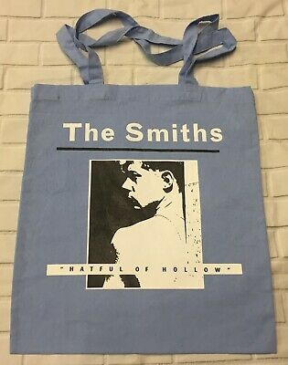 £3.50 • Buy The Smiths - Hatful Of Hollow - Sky Blue Tote/Shopper Bag