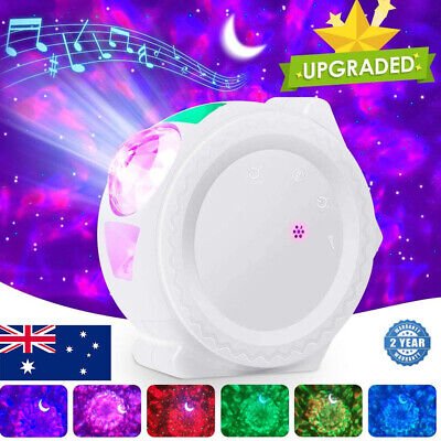 AU50.90 • Buy 3In1 LED Galaxy Starry Night Light Projector 3D Ocean Star Sky Party Lamp Gift
