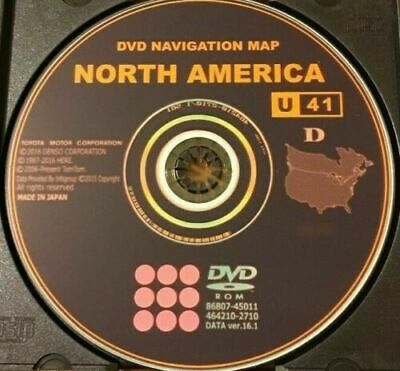 $ CDN10.80 • Buy Latest 2017 Gen 5 Toyota Lexus Navigation Map Update DVD Ver 16.1 U41 East/West