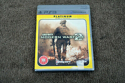 Call Of Duty: Modern Warfare 2 Playstation 3 PS3 Complete • 2.79£