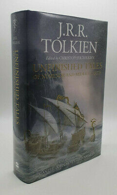 £75 • Buy J.R.R. Tolkien - Unfinished Tales - SIGNED By Alan Lee - First Edition Thus