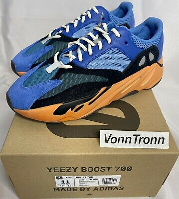 $ CDN429.27 • Buy Adidas Yeezy Boost 700 Bright Blue GZ0541 Men's - SIZE 11 US - IN HAND SHIPS NOW
