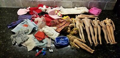 $ CDN26 • Buy Vintage Barbie & Family Damaged Doll Parts & Clothes Lot