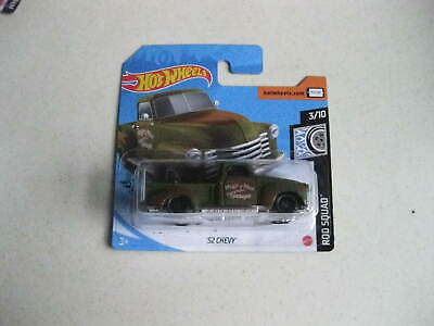 AU12.12 • Buy Hot Wheels Collectable 52 Chevy Pickup Truck 3/10 Hw Rod Squad Set By Mattel