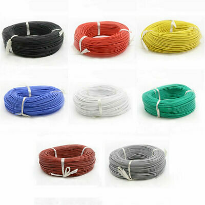 AU5.99 • Buy 16 AWG UL3239 Flexible Silicone Stranded Cable Electrical Wire 3KV 200°C 8-Color