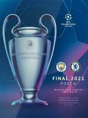 £14.99 • Buy 2021 CHAMPIONS LEAGUE FINAL - MANCHESTER CITY V CHELSEA + POSTER