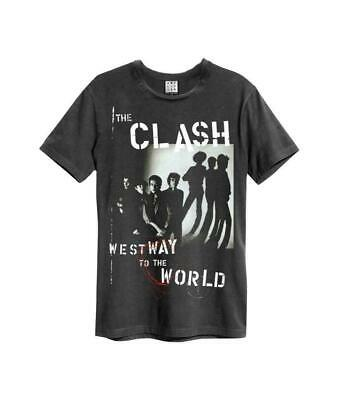 £20.99 • Buy Amplified The Clash Westway To The World Men's T-shirt