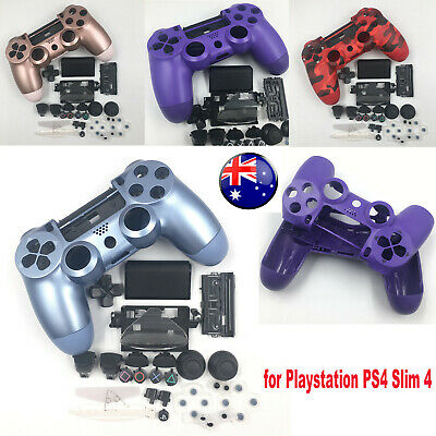 AU33.98 • Buy For Sony Playstation PS4 Slim PS4 Controller Housing Shell Case Buttons Mod Kit