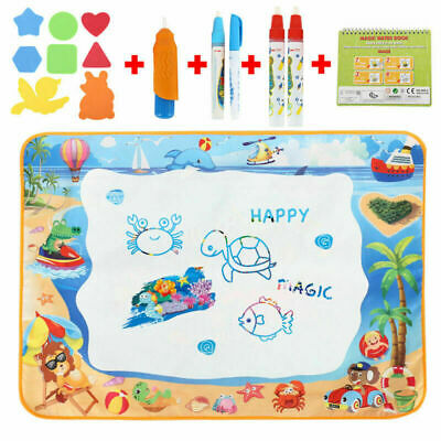 £12.09 • Buy Water Doodle Mat Aqua Drawing Painting Mat Large 100 X 70cm Mess Free Learning