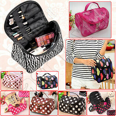 £5.95 • Buy Portable Cosmetic Make Up Bag Case Pouch Travel Toiletry Storage Bag Organizer