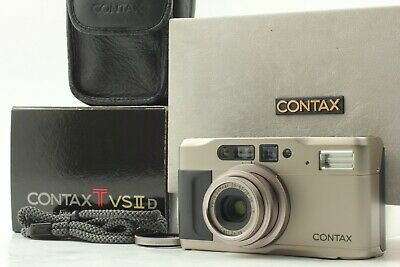 $ CDN846.43 • Buy [Mint In Box] CONTAX TVS II D Point And Shoot Film Camera Data Back Strap Japan