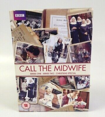 Call The Midwife DVD Boxset Series 1-2 + Christmas Special 6 Discs Extra Feature • 1.75£