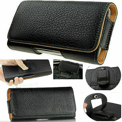 £2.99 • Buy Universal Belt Clip Hip Loop Pouch For Apple IPhone Models Case Cover PULeather