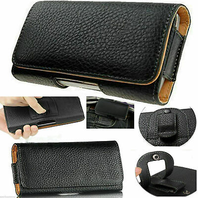 $ CDN6.67 • Buy Universal Belt Clip Hip Loop Pouch For Samsung Mobile Phone Case Cover PULeather