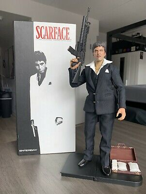 $359.99 • Buy Enterbay Scarface Tony Montana Figure And Box (Accessories Not Complete)