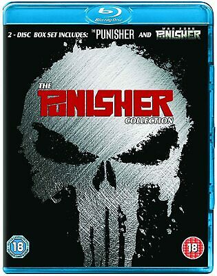 £6.99 • Buy The Punisher/The Punisher: War Zone (Blu-ray) Ray Stevenson, Dominic West