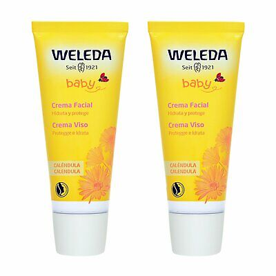 £17.99 • Buy 2 PCS Weleda Baby Calendula Face Cream 50ml Skincare Moisturizing Soothing Calm