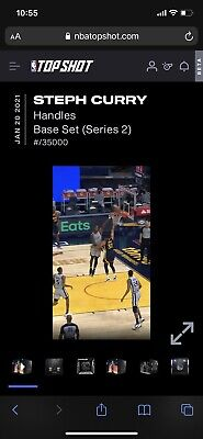 $69.99 • Buy NBA Top Shot Moment NFT (All-Star) Steph Curry *Handles* Series 2 CC LOW SERIAL