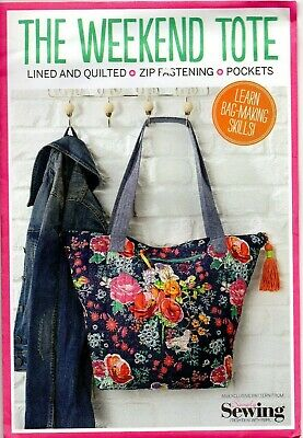 £7.95 • Buy Simply Sewing Pattern For The Weekend Tote, Learn Bag Making Skills, Quilted New