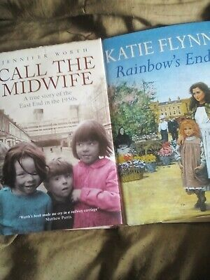 Two Hardback Books, Call The Midwife And Other Fiction Book • 4.99£
