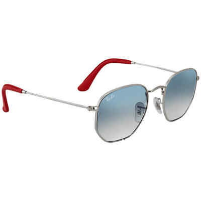 AU162.26 • Buy Ray Ban Scuderia Ferrari Collection Light Blue Gradient Hexagonal Sunglasses