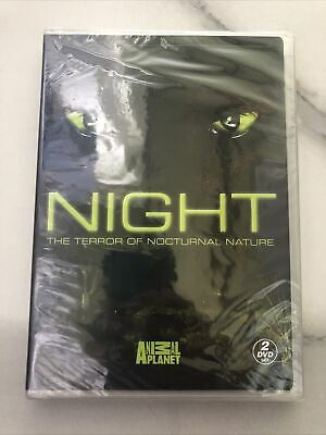 £7.80 • Buy NEW 2DVD - NIGHT - ANIMAL PLANET - THE TERROR OF NOCTURNAL NATURE - 7+ Hours