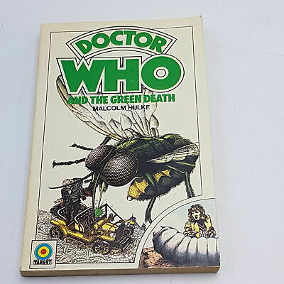 Doctor Who: The Green Death (1975) 1st Edition Target Paperback [G+] • 8.99£