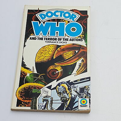 Doctor Who: The Terror Of The Autons (1975) 1st Edition Target Paperback [VG] • 9.99£