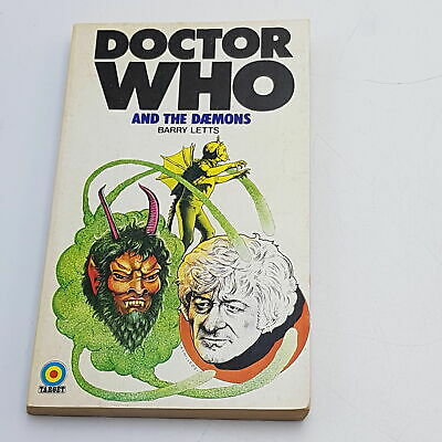 Classic Doctor Who: The Daemons (1974) 1st Edition Target Paperback [G] • 9.99£