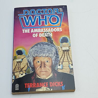 Doctor Who: The Ambassadors Of Death (1987) 1st Edition Target Paperback [G+] • 14.99£