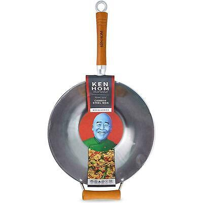 £25.46 • Buy Ken Hom Traditional Excellence Carbon Steel Wok - Suitable For Induction - 32cm