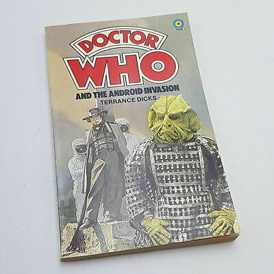 Doctor Who: The Android Invasion (1978) 1st Edition Target Paperback [VG+] • 11.99£