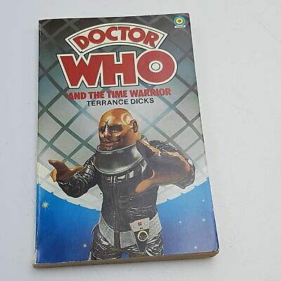 Doctor Who: The Time Warrior (1978) 1st Edition Target Paperback [G+] • 5.99£
