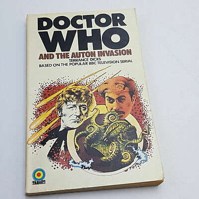 Doctor Who: The Auton Invasion (1975) 2nd Impression Target Paperback [G] • 4.99£