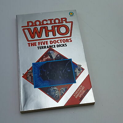 Doctor Who THE FIVE DOCTORS (1983) 1st Edition Target Paperback [VG+] Unread • 9.99£