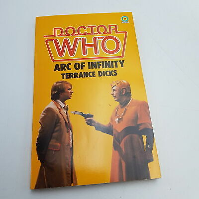 Doctor Who The Arc Of Infinity (1983) 1st Ed. Target Paperback [VG] Unread • 6.99£