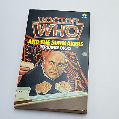 Doctor Who THE SUNMAKERS (1982) 1st Ed. Target Paperback [Near Mint] Unread • 7.99£