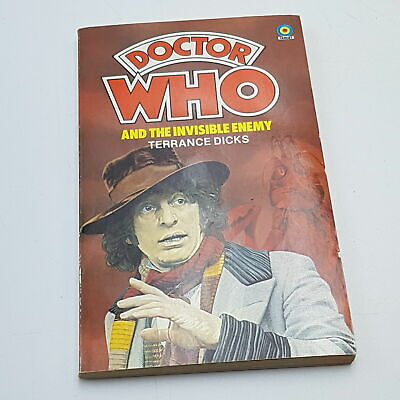 Doctor Who: The Invisible Enemy (1979) 1st Edition Target Paperback [Near Mint] • 6.99£