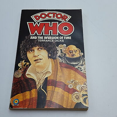 Doctor Who: The Invasion Of Time (1980) 1st Edition Target Paperback [VG] • 4.99£