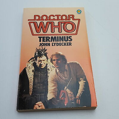 Doctor Who TERMINUS (1983) 1st Edition Target Paperback [Near Mint] • 7.99£