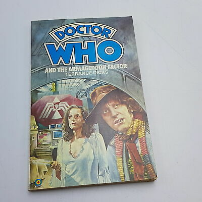 Doctor Who: The Armageddon Factor (1980) 1st Edition Target Paperback [Near M... • 5.99£